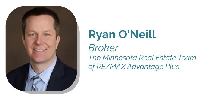 Ryan O'Neill-Broker of the Minnesota Real Estate Team of RE/MAX